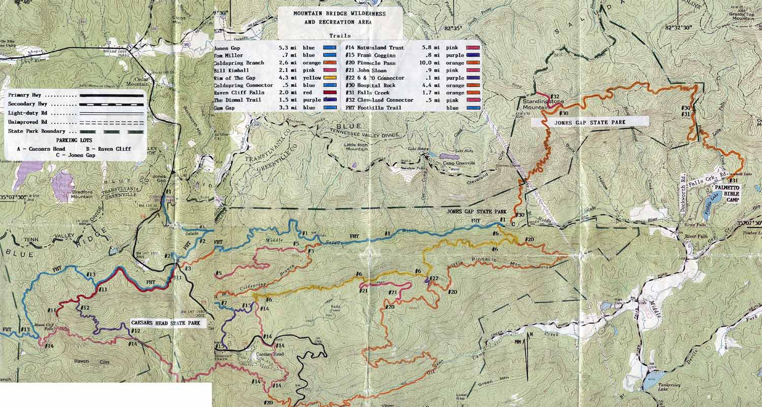 ellicott rock wilderness map, pisgah national forest map, linville falls map, highlands nc map, north carolina map, linville gorge map, sliding rock map, roan mountain map, shining rock trail, blue ridge parkway map, looking glass rock map, dupont state forest map, beech mountain map, mount pisgah map, on shining rock wilderness map